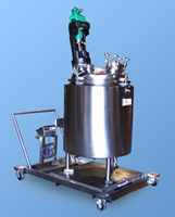 image of portable mix tank